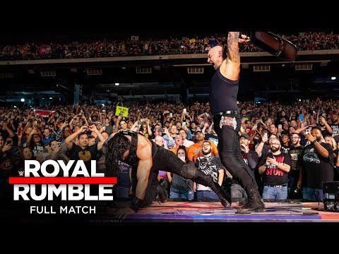 FULL MATCH - Roman Reigns vs. King Corbin – Falls Count Anywhere Match: Royal Rumble 2020