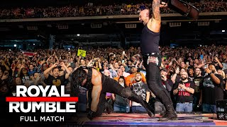 FULL MATCH - Roman Reigns vs. King Corbin - Falls Count Anywhere Match: Royal Rumble 2020