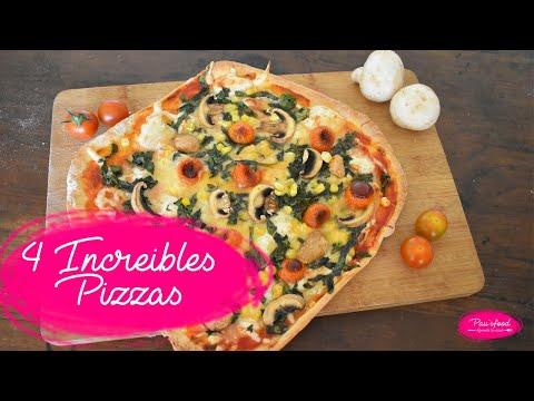 4 TIPOS DE PIZZAS | diferentes y deliciosas estilos de pizzas