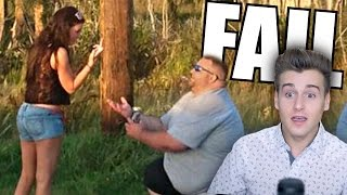 The Funniest Marriage Proposal Fail!
