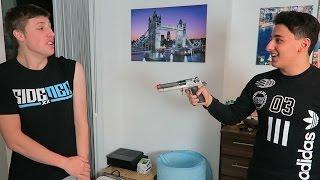 FIFA 16 BB GUN CHALLENGE