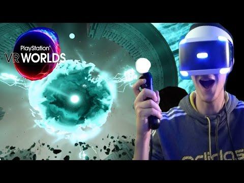 PlayStation VR Worlds (PSVR) Part 5 - Scavengers Odyssey - Flying Wood Lice