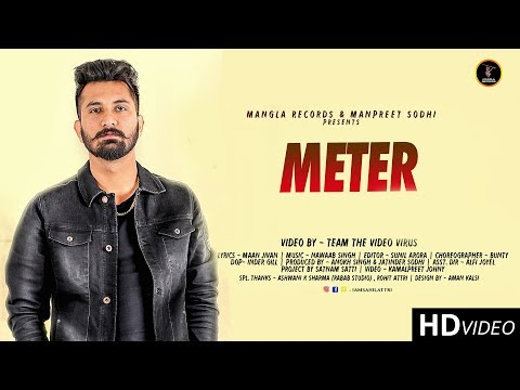 Meter | Sahil Attri  | Kamalpreet johny | Nawaab Singh | Latest Punjabi Songs 2018 | Mangla Records