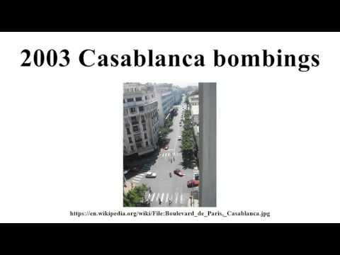 2003 Casablanca bombings