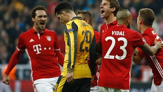 Bayern Munich 5 Arsenal 1 | Player Ratings