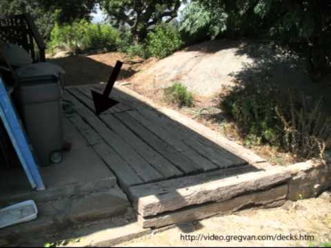 Watch This Video before Using Railroad Ties for Decks ...