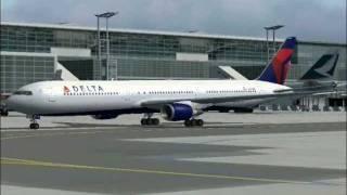 Delta Flight 15 departs Frankfurt to Atlanta (FS2004)