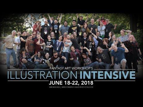 Illustration Intensive 2019 – Fantasy Art Workshop