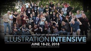 Fantasy Art Workshop's Illustration Intensive 2018