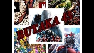 BUTAKA 43: KUN FU PANDA3, CIVIL WAR, ANT-MAN. Y MUCHO MAS...enterate de lo ultimo. // 4l3x Mp