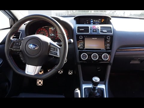 Subaru Wrx 2016 Interior Review Tour