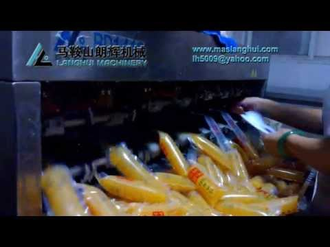 Egg Tofu Filling Sealing Machine Production Field