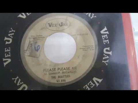 RARE HOLY GRAIL! Beatles Vinyl Update - Please Please Me #498 (Beattles) Vee-Jay Promo DJ Copy