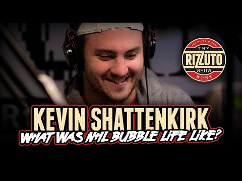 """KEVIN SHATTENKIRK shares what NHL """"bubble"""" life was like [Rizzuto Show]"""