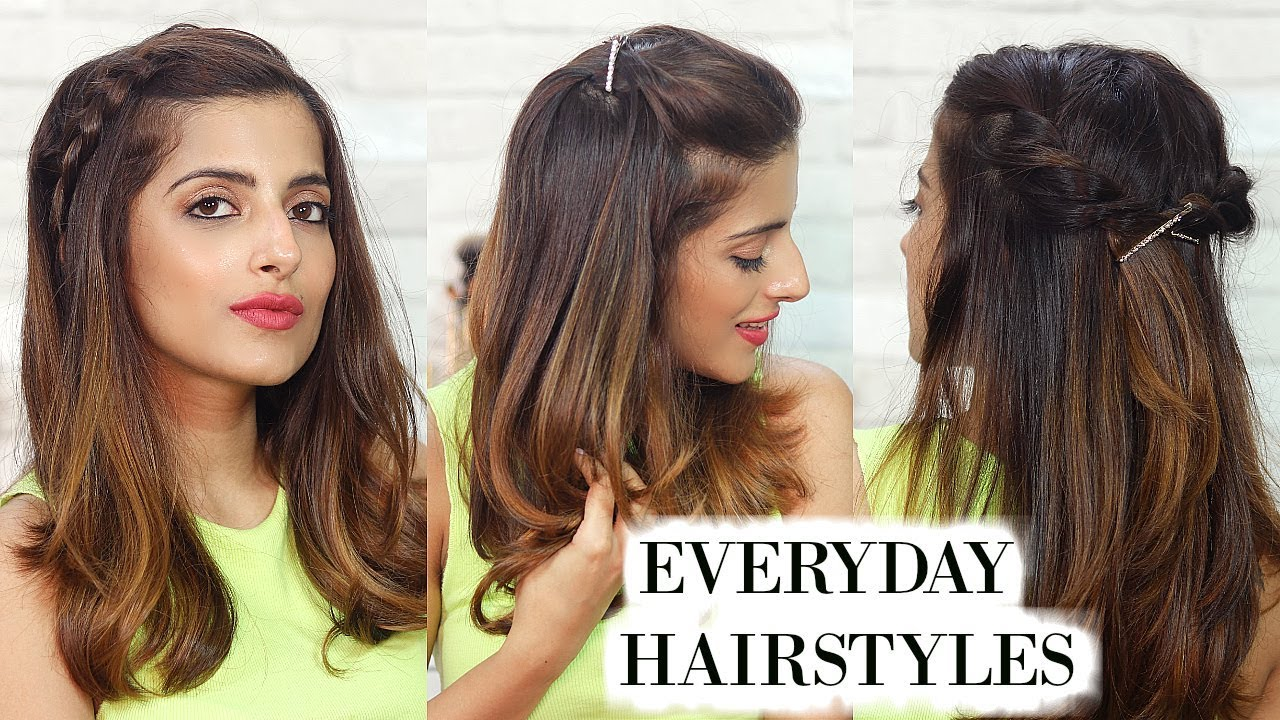 11 Everyday Hairstyles For Medium Hair For School, College, Work  Knot Me  Pretty