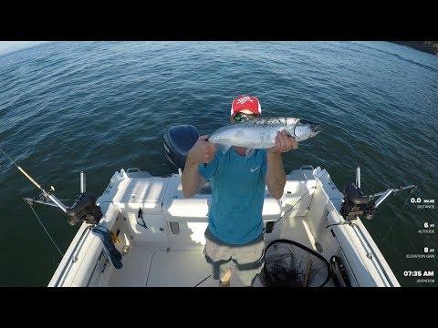 Bowen Island Salmon Fishing