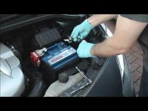 how to change a car battery safely youtube. Black Bedroom Furniture Sets. Home Design Ideas