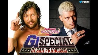 Kenny Omega Vs. Cody Rhodes Set For IWGP Heavyweight Title