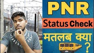 PNR Status Check Get CURRENT PNR Status Online For Train,PNR Status Check karna hai.Indian Rail info