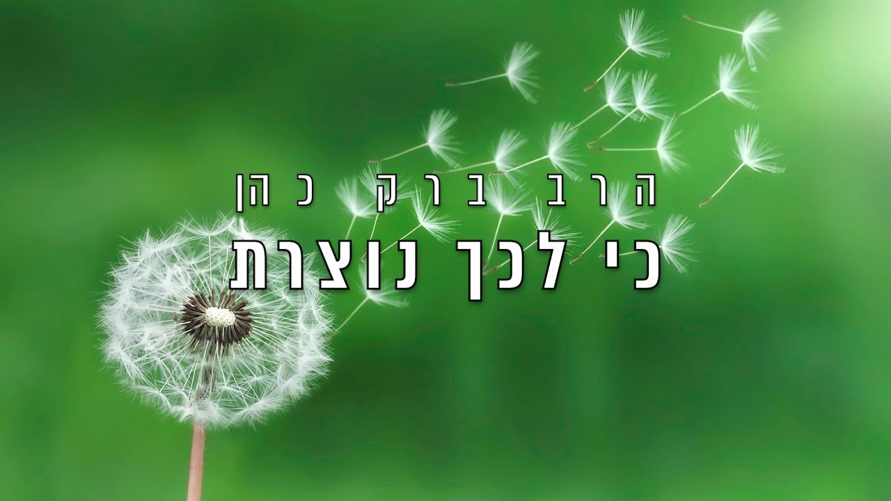 הרב ברק כהן - מוסר מפרקי אבות | שיעור 19 - כי לכך נוצרת