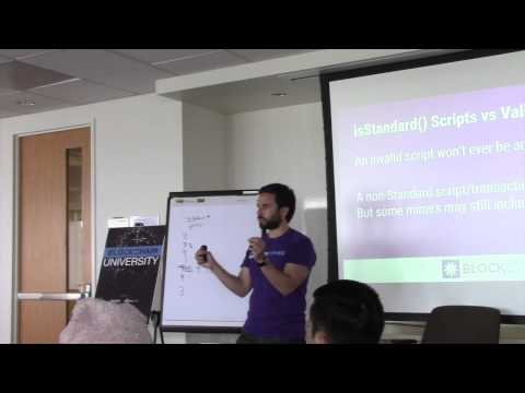Josh Cincinnati goes into depth explaining Bitcoin Script language