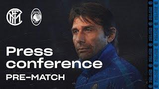 INTER vs ATALANTA | Antonio Conte Pre-Match Press Conference LIVE 🎙⚫🔵 [SUB ENG]
