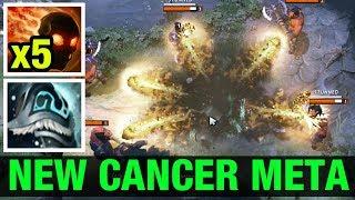 New Cancer 7.06f Build To Wraith King  Dota 2
