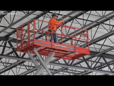IKEA in Grand Prairie under construction