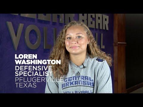 Volleyball: Meet Loren Washington