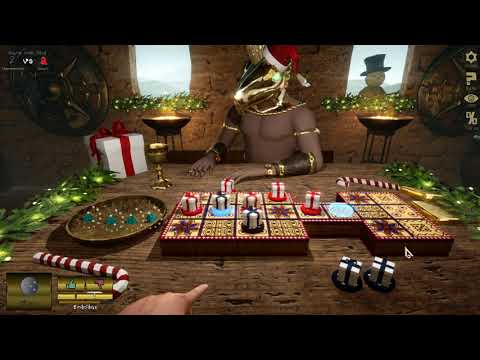 Ur Game The Game of Ancient Gods Gameplay (PC Game) |