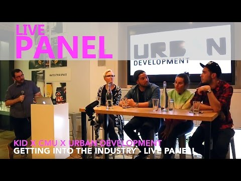CMU x URBAN DEVELOPMENT x KID: Music Industry Panel at Red Bull Studios, London