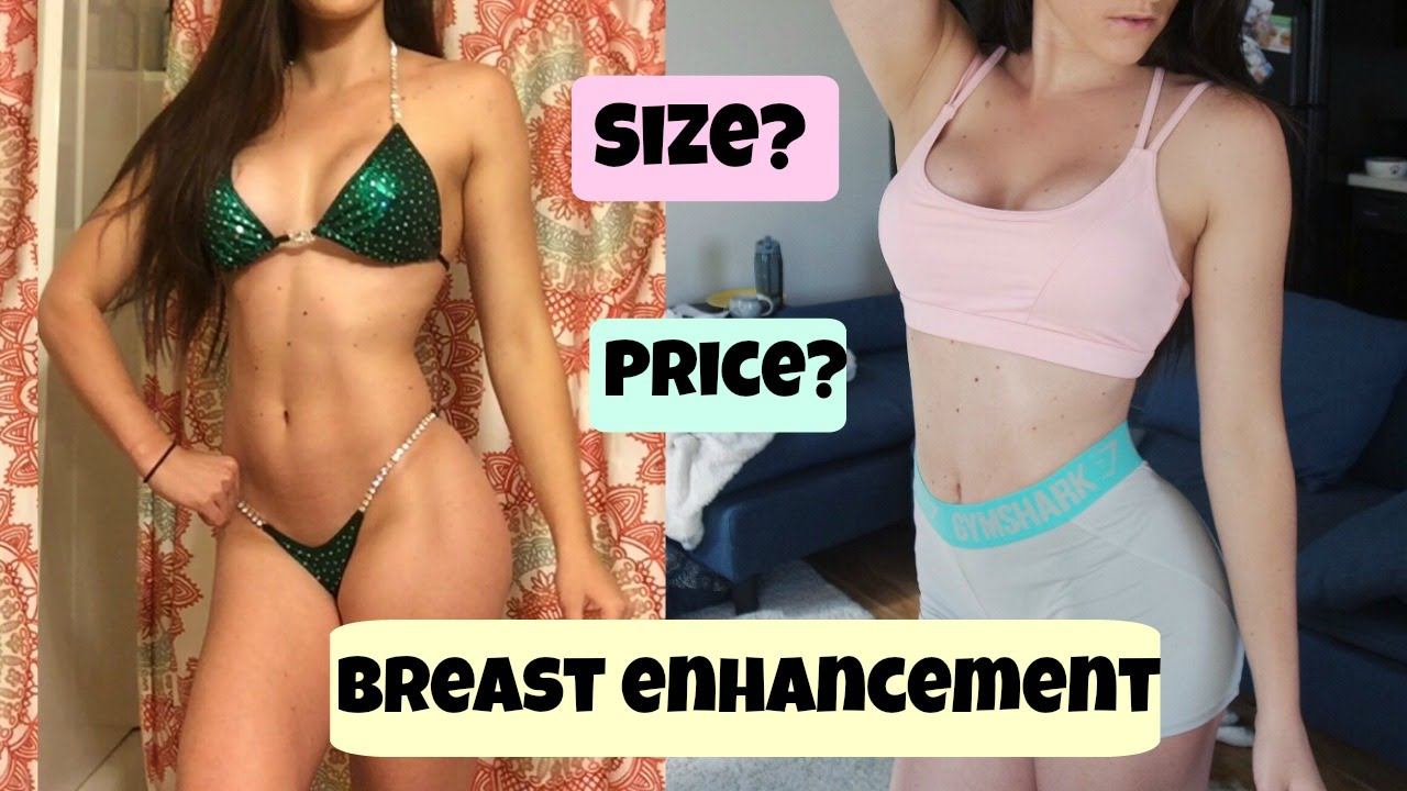 Adult breast enhancement before and after