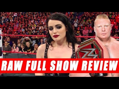 WWE RAW 4/9/2018 - Full show Review Coverage - Night after Wrestlemania