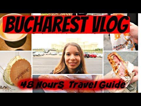 48 Hours In Bucharest - Travel Vlog #7