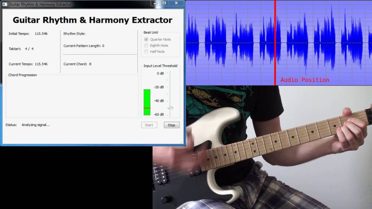 Detection Of Chords And Rhythm Styles Youtube