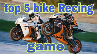 Top 5 best bike Recing game for Android and iOS // how to download top 5 bike Recing game