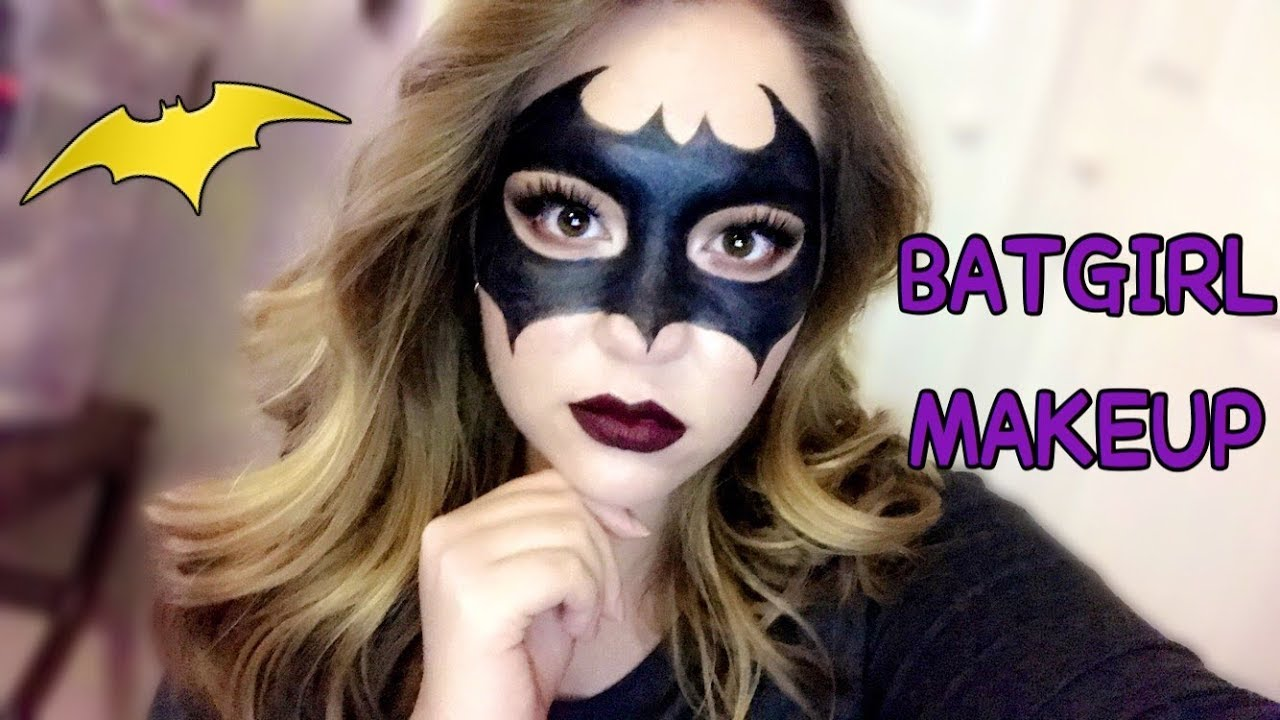 Easy Batgirl Makeup Tutorial Collab With Makeup By Vanessa