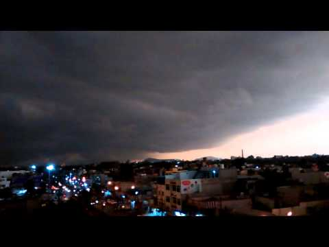 Storm in Indore