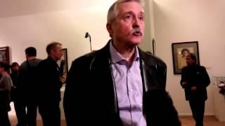 видео В Русском музее открылась выставка Льва Бакста