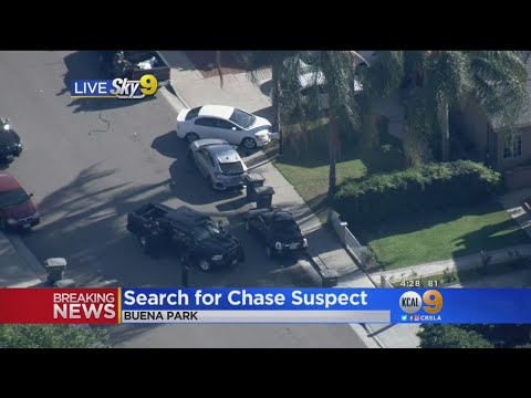 Buena Park Police Hunt Suspect Possibly Armed With Rifle
