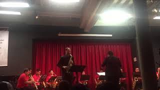 Concertino Da Camera, II, Jacques Ibert, Carl-Emmanuel Fisbach & CISAXLIMA2018, live Lima, Peru
