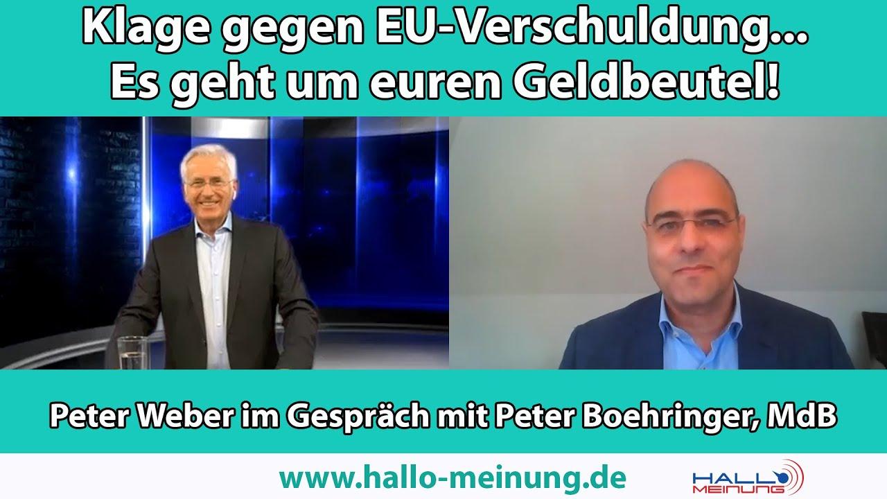 Klage gegen EU-Verschuldung... Es geht um euren Geldbeutel!