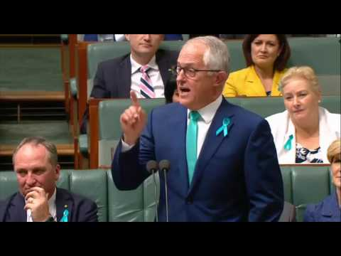 "Malcolm Turnbull's ""sycophant"" and ""parasite"" speech"