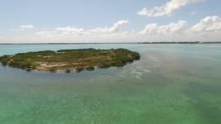 Uninhabited Island in Florida Keys