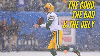 The Good, the Bad and the Ugly: Packers vs Giants