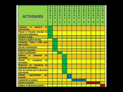 Calendario De Tesis.Actividades Y Cronograma