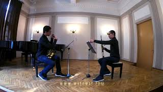 Bun Leng Rock Fantasia for two saxophones by Wisuwat Pruksavanich