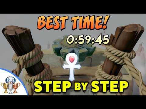 Crash Bandicoot - The High Road Platinum Relic (0:59:45) Step by Step Time Trial Walkthrough