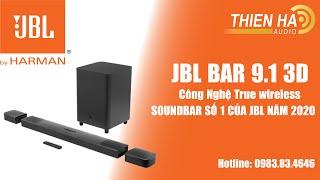 Soundbar JBL Bar 9.1 3D - True Wireless - Âm Thanh Vòm Sống Động - Soundbar Số 1 Của JBL