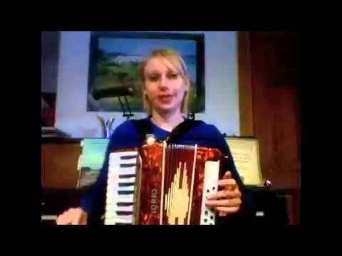 How To Play Minors On A 12 Bass Accordion Youtube